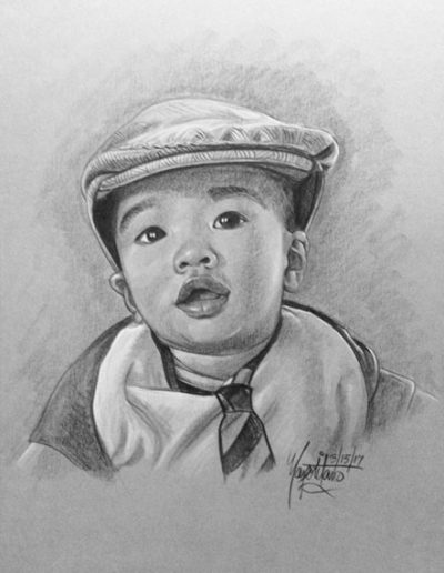 Baby With Hat And Tie