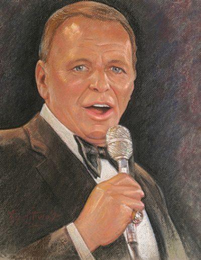 Frank Sinatra portrait 1 *