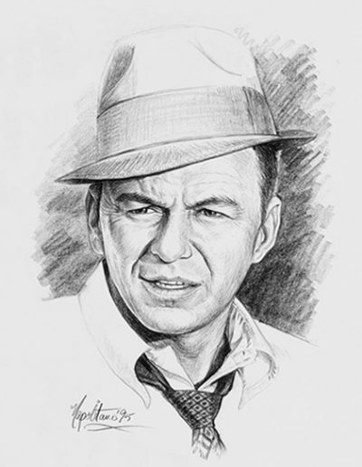 Frank Sinatra portrait 2 *