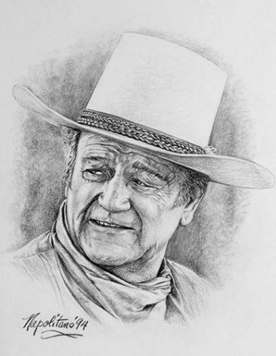 John Wayne portrait 2 *