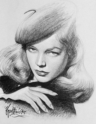 Lauren Bacall *