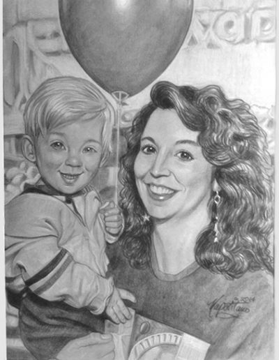 Mom Son Balloon