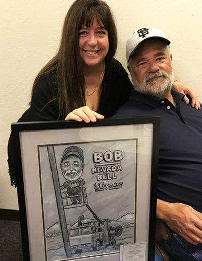 Nevada Bell Bob36 years