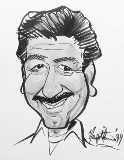 On Location caricature 8